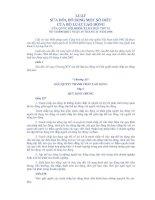 LUẬT SỬA ĐỔI, BỔ SUNG MỘT SỐ ĐIỀU CỦA BỘ LUẬT LAO ĐỘNG VỀ GIẢI QUYẾT TRANH CHẤP LAO ĐỘNG CỦA QUỐC HỘI pdf