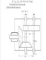 TNUT Thuyết minh đồ án thiết kế sản phẩm với CAD Hộp giảm tốc với Bánh Răng Côn