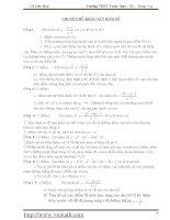 khảo sát hàm số và các dạng toán thường gặp pps
