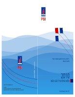 báo cáo thường niên 2010 công ty cổ phần chứng khoán dầu khí kites rise highest against the wind not with it