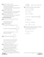 luyện thi tốt nghiệp lớp 12 môn toán theo dạng bài phần 4 potx