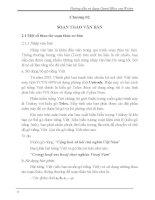 Hướng dẫn sử dụng OpenOffice.org Writer - Chương 2 pps