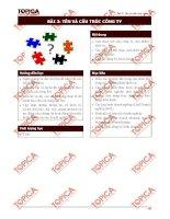 Bài 3: Tên và cấu trúc công ty ppt
