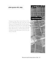 Phát triển AutoCAD bằng ActiveX & VBA - Chương 1 pps