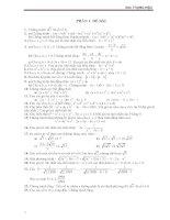 Các bài tập bồi dưỡng HSG Toán 9 chọn lọc