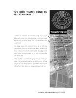 Phát triển AutoCAD bằng ActiveX & VBA - Chương 6 pdf