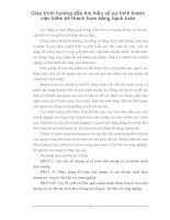 Giáo trình hướng dẫn tìm hiểu về sự hình thành việc kiểm kê thanh toán bằng hạch toán phần 1 pdf