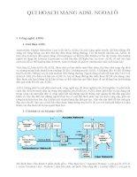 Quy hoạch mạng ADSL ở ngoại ô