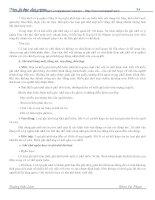 GIÁO TRÌNH: TÂM LÝ HỌC ĐẠI CƯƠNG - HOÀNG ĐỨC LÂM -4 doc
