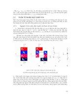 bài giảng Kỹ thuật điện tử và tin học phần 9 docx