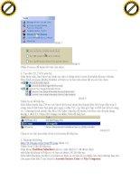 Giáo trình tổng hợp những bộ phần mềm giúp bảo mật Window Xp an toàn và hiệu quả phần 3 pps