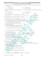 ôn tập vật lý 12 học kỳ 1