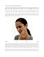 Viêm nướu răng dễ dẫn đến ung thư vú pdf