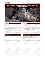 Bài 7: Hoạch định nguyên vật liệu và quản trị hàng dự trữ pot