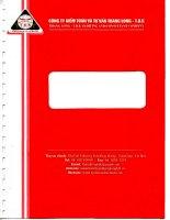 báo cáo tài chính công ty cổ phần xây dựng 47 cho năm tài chính 2011 kết thúc ngày 31 tháng 12 năm 2011 công ty kiểm toán và tư vấn thăng long t d k THANG LONG t d k AUDITING AND CONSULTANT COMPANY