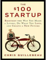 the 100 startup   reinvent the way you make a living