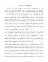 dissertation abstracts liquidity management in monetary policy of the state bank of vietnam