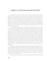 Nhập môn kỹ thuật dự báo thời tiết số - Chương 12 pps