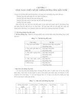 Giáo trình phân tích quá trình nghiên cứu thông số của miệng thổi chỉnh đôi p3 potx