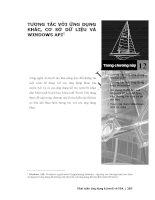 Phát triển AutoCAD bằng ActiveX & VBA - Chương 12 docx