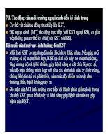 Bệnh học thủy sản : KHÁI NIỆM VỀ BỆNH KÝ SINH TRÙNG part 8 pot
