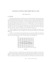 Động lực học chất lỏng tính toán - Chương 6 pot