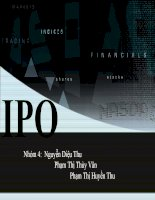 Bài thuyết trình IPO pdf