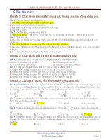 bài tập trắc nghiệm vật lí 12 – ôn thi đại học có đáp án