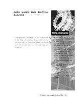 Phát triển AutoCAD bằng ActiveX & VBA - Chương 3 potx