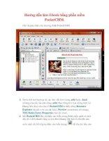 Thủ thuật Windows XP: Hướng dẫn làm Ebook bằng phần mềm PocketCHM pps