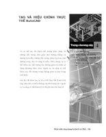 Phát triển AutoCAD bằng ActiveX & VBA - Chương 4 pot