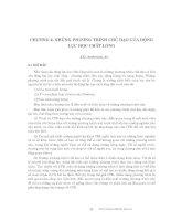 Động lực học chất lỏng tính toán - Chương 2 ppsx