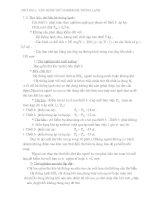 Giáo trình chuyên đề lạnh - chương 1 doc