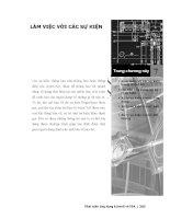 Phát triển AutoCAD bằng ActiveX & VBA - Chương 7 potx
