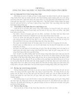 Công tác trắc địa trong xây dựng nhà cao tầng - Chương 4 pps