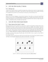Giáo trình phân tích quy trình nghiên cứu cấu tạo mô hình quản lý mạng phân phối p3 potx