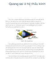 Quang sai ở hệ thấu kính pptx