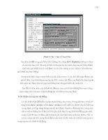 Giáo trình phân tích quy trình vận hành ứng dụng các chế độ cấu hình toàn cục cho modem p10 ppsx