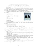 Hướng dẫn thí nghiệm vật liệu xây dựng - Bài 5 pot