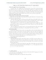 TÀI LIỆU HUẤN LUYỆN KỸ THUẬT AN TOÀN VẬN HÀNH XE NÂNG HÀNG VÀ THANG NÂNG TỜI NÂNG HÀNG - PHẦN 6 pdf