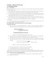 Giáo trình - Công nghệ kim loại - chương 3 doc