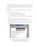 Giáo trình phân tích quy trình vận hành ứng dụng các chế độ cấu hình toàn cục cho modem p9 pps