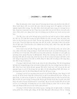 Nhập môn kỹ thuật dự báo thời tiết số - Chương 1 doc