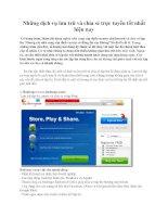 Những dịch vụ lưu trữ và chia sẻ trực tuyến tốt nhất hiện nay ppsx
