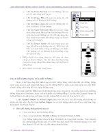 Giáo trình hướng dẫn tìm hiểu tổng quát cách cài đặt và sử dụng chương trình kỹ thuật đồ họa trên maya phần 9 ppsx