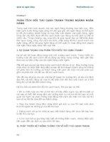 Giáo trình Quản trị ngân hàng - Chương 7 ppt