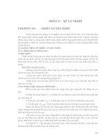 Vật liệu kỹ thuật - Phần 3 Xử lý nhiệt - Chương 10 ppt