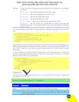 Giáo trình hướng dẫn phân tích ứng dụng các phương pháp lập trình trên autocad p1 docx