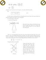 Giáo trình hướng dẫn các quy luật lan truyền ánh sáng theo các nguyên lý phần 4 potx