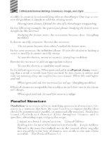 writings grammar usage and style phần 5 pdf
